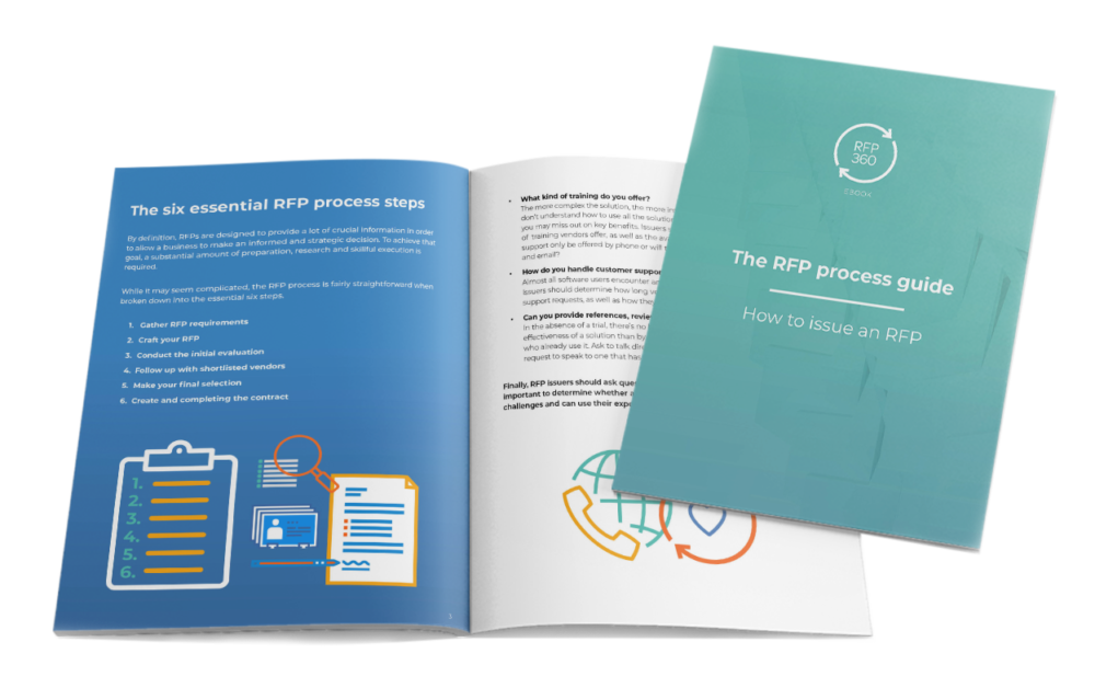 RFP process guide cover