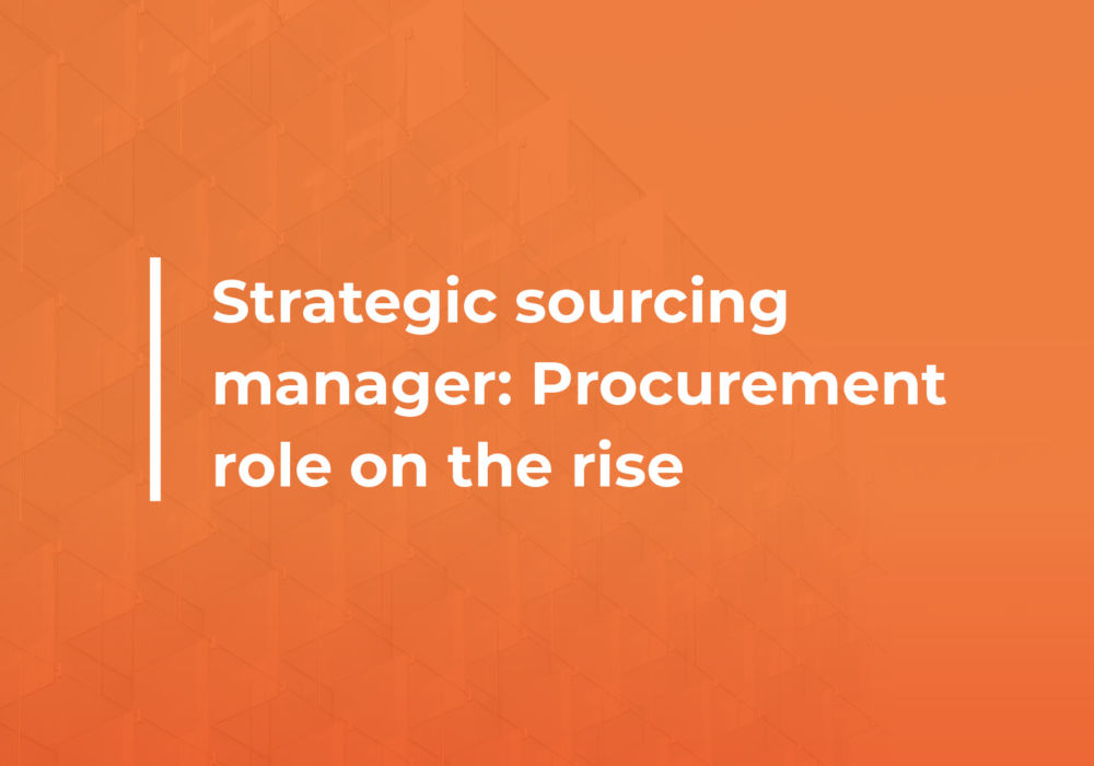 Strategic sourcing manager featured image
